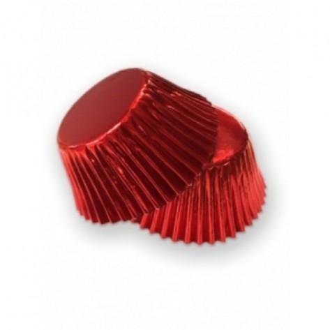Krona za pečenje rdeča, 45 kosov