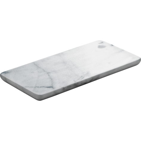 Pladenj Marmor White 18x9 cm