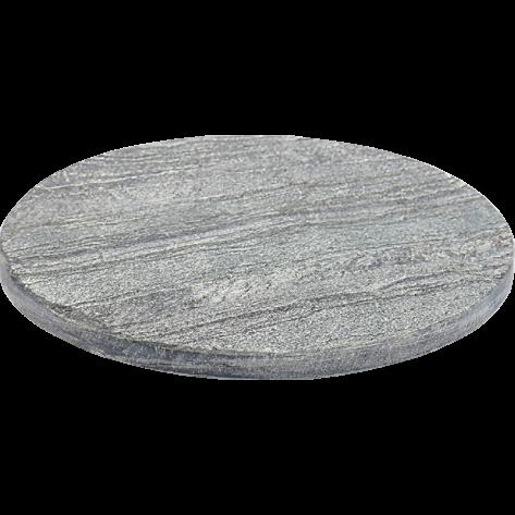 Pladenj Silverslate okrogel 25 cm