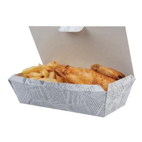 Fish&chips embalaža 20 kosov
