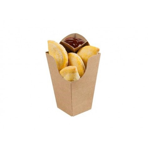 Žepki za krompirček z omačnico KRAFT, 500 kosov