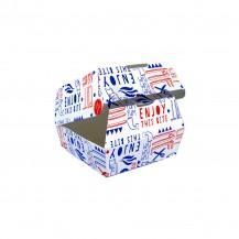 Embalaža za hamburger 50 kosov